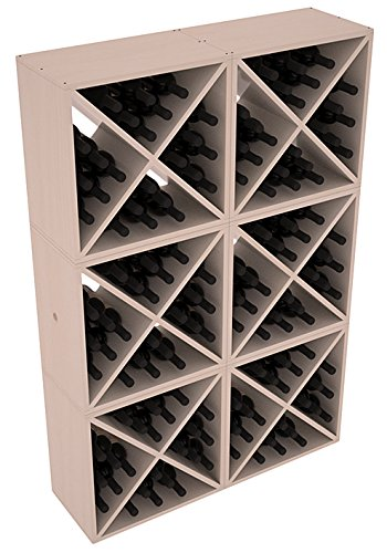 Wine Racks America Ponderosa Pine 144 Bottle Wine Cube. 13 Stains to Choose From!