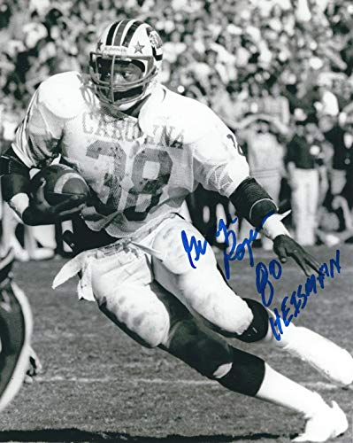 Autographed George Rogers 8x10 University of South Carolina Photo
