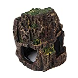 VORCOOL Aquarium Sea Rock Cave Ornament for Fish Tank Decoration