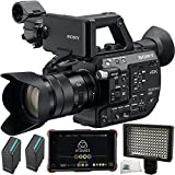 Sony PXW-FS5 XDCAM Super 35 Camera System with Sony E PZ 18-105mm f/4 G OSS Lens + 5PC Accessory Kit