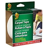 Carpet Tape, 1.88'''' x 75ft, 3'''' Core, Sold as 1 Roll
