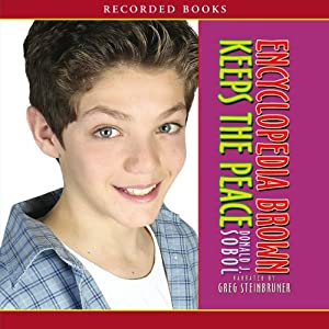 Encyclopedia Brown Keeps the Peace Audiobook