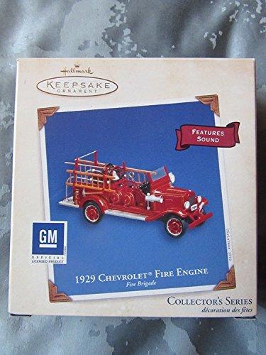 Hallmark 1929 Chevrolet Fire Engine - Fire Brigade 2003 QX8449 by Keepsake Ornament