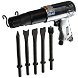 Ingersoll-Rand 117K 2,000 Blows-Per-Minute Standard Duty Pnuematic Hammer with 5 Chisel Set