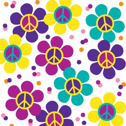 - Groovy Girl Party Printed Confetti