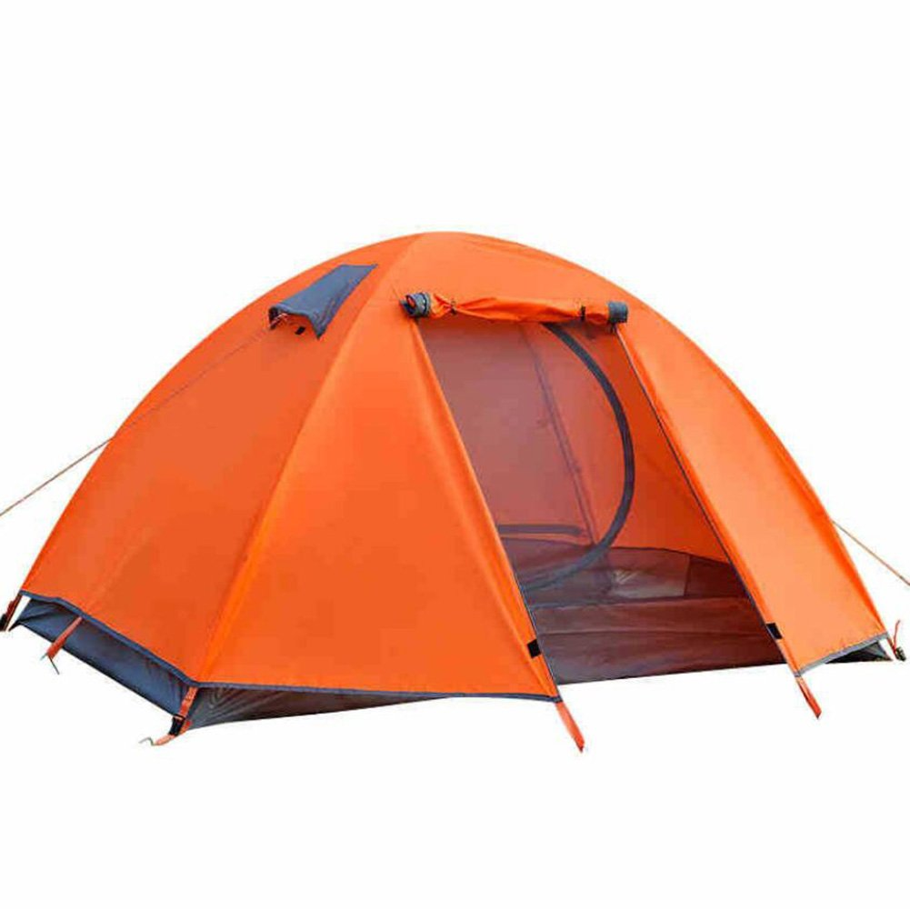 Doppelzelt-Zelt-im Freien wandernde Zelte im Freien halten warmes wasserdichtes tragbares ultra leichtes (UL) windundurchlässiges Zelt