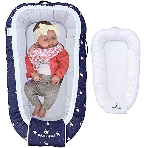Diaper Squad 100 Organic Cotton Baby Nest Lounger