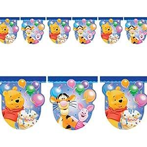 Anagram - Banderín para fiestas, diseño de Winnie the Pooh