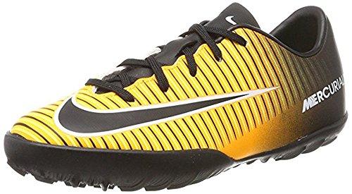 Nike Unisex-Kinder Jr. MercurialX Victory VI TF Fußballschuhe LASER ORANGE/BLACK-WHITE-V