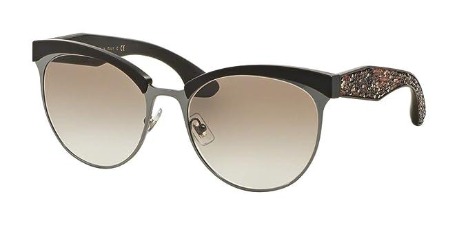 a95001f692e Miu Miu MU54QS Sunglasses Grey TFD1L0)