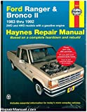H36070 Ford Ranger Pick-up Trucks and Bronco II 1983-1992 Haynes Truck Repair Manual