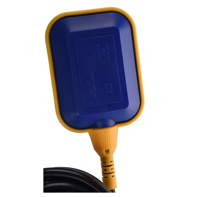 Controlador de nivel de agua - SODIAL(R) flotador cambiar de liquido controlador de sensor de nivel de agua 4M 13,1ft THK2: Amazon.es: Bricolaje y ...