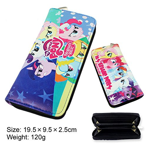 E.a@market Anime My Little Pony Cosplay Long Pu Wallet