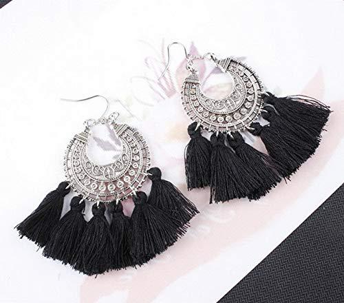 Waldenn New Styles Women Ladies Girls Boho Long Earrings Party Holiday Fashion Jewellery | Model ERRNGS - 9522 |