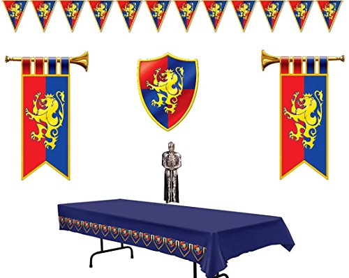 Price comparison product image Medieval Decorations Party Supply Pack