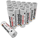 Polaroid AA Batteries Extreme Alkaline (20 Pack)