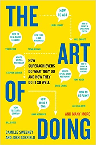 Image result for the art of doing by camille sweeney