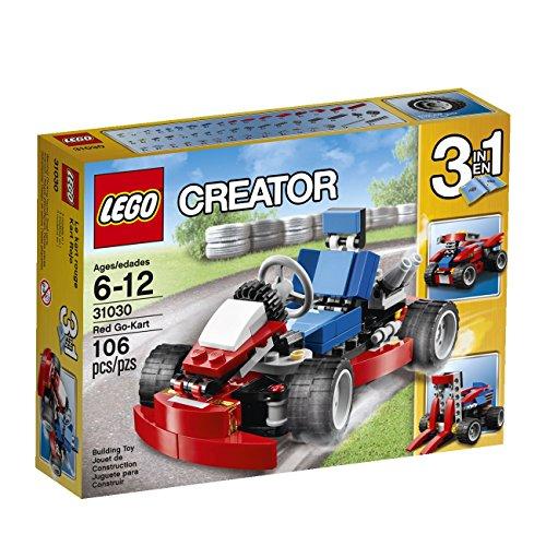 LEGO Creator Red Go-Kart (Bike Lego Quad)