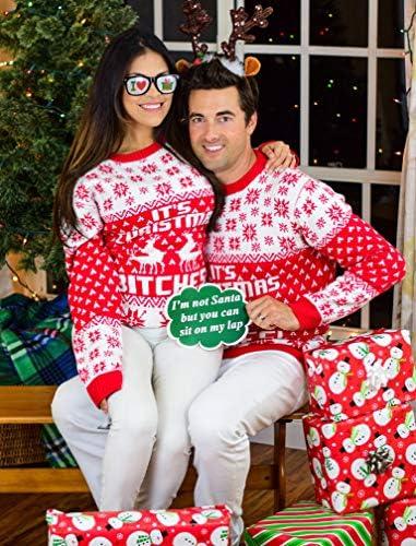 Weihnachtspullover Partnerlook
