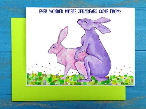 Rabbit Easter Card - 6