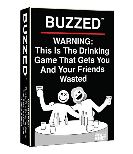 Buzzed - This is The Drinking Game That Gets You and Your Friends Buzzed!