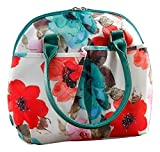 The Pioneer Woman Lunch Tote with Water Bottle, Bloom Dot