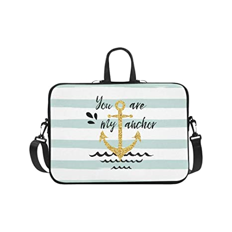 4d754ef83688 Amazon.com: InterestPrint Nautical Anchor Quotes on Mint and White ...