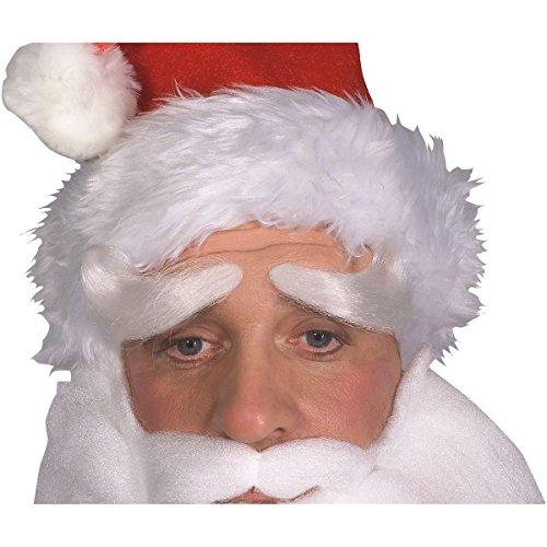 Deluxe Santa Claus Eyebrows Costume Accessory