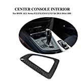 JCSPORTLINE Carbon Fiber Center Console Shift Plate for BMW ALL Series F22 F32 F10 F12 X5 X6 2014-2016