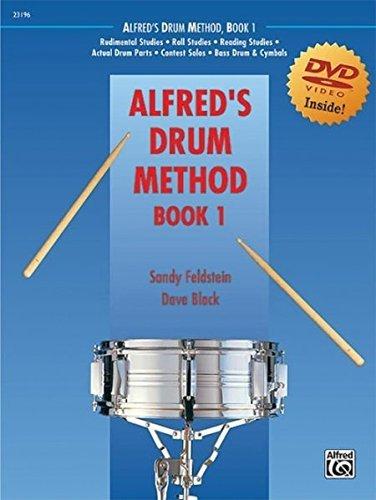 Alfred's Drum Method, Bk 1: The Most Comprehensive Beginning Snare Drum Method Ever!, Book & DVD (Sleeve) (Paperback) - Common