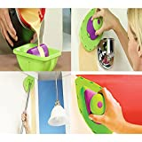 Toyofmine Point N Paint Easy Paint Pads Point Painting Roller Tray Multifunction Tool and 3 Sponge Set Kit