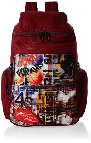 Kanvas Katha 10 Ltrs Maroon Casual Backpack (KKKS004MR)