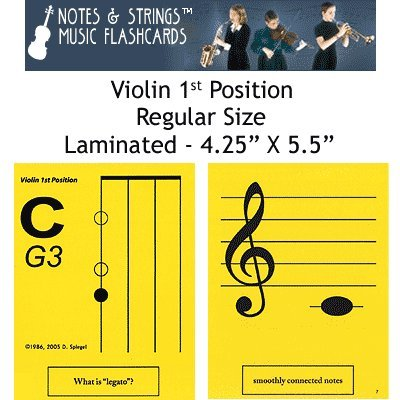 Notes & Strings Violin 1st Position 4.25