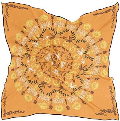 DEZIRO Hoofd Wrap Klassieke Mandala Patroon Vrouwen Mode Sjaal Lichtgewicht Zacht Idee Gift 236x236 in