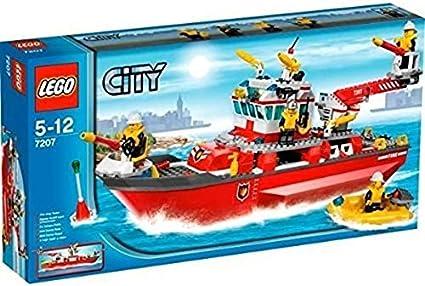 LEGO City Bomberos 7207 - Barco de Bomberos (ref. 4557680): Amazon.es: Juguetes y juegos