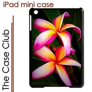 iPad Mini Black Protective Hard Case - Plumeria Flowers by Maris's Diary