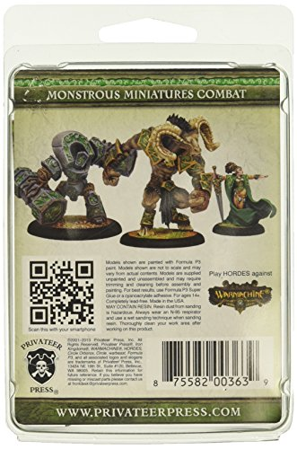 Privateer Press - Hordes - Circle Orboros: Morvahna The Autumnblade Model Kit 4