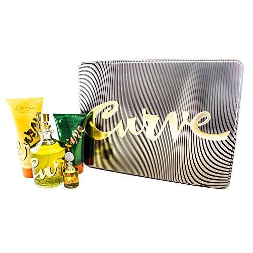 Liz Claiborne Curve 4 Piece Gift Set for Men