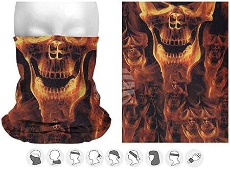 Halstuch Gesichtsmaske Sturmmaske Damen /& Herren Varianten dreamhouse Multifunktionstuch Schlauchschal Bandana Maske mit Motiv Mehrzweckschal