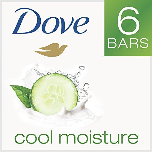 Dove go fresh Beauty Bar, Cucumber and Green Tea 4 oz, 6 Bar