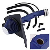 2000 tacoma cold air intake - For Toyota Tacoma 4Runner 3.4L V6 High Flow Induction Air Intake System + Heat Shield Blue Wrinkle Piping Kit