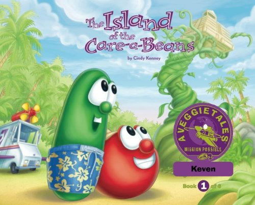 Download The Island of the Care-a-Beans - VeggieTales Mission Possible Adventure Series #1: Personalized for Keven (Boy) updated pdf