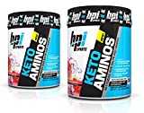BPI Sports Keto Aminos Ketogenic BHB Salts and Aminos for Muscle Recovery and Repair, 30 Servings Each (2 Pack) (Watermelon Ice)