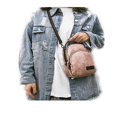 Per Taihang Color Borsa Pink Tracolla A Donna Con Da Rotonda vwFtqA