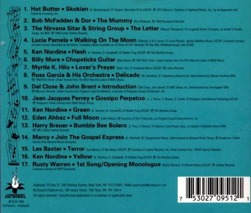 Re/Search: Incredibly Strange Music, Vol. 2