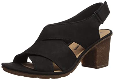 CLARKS Women s Sashlin Nolte Heeled Sandal 97085a430f