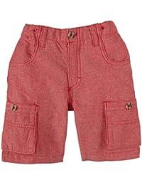 Kapital K Little Boys' Cargo Shorts (Toddler/Kid) - Red Pepper Chambray