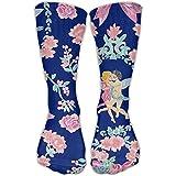 Novelty Design Couple Love Valentine Crew Socks Knee Running Socks For Girls