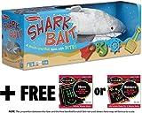 Shark Bait Game - Family Game + FREE Melissa & Doug Scratch Art Mini-Pad Bundle [94542]