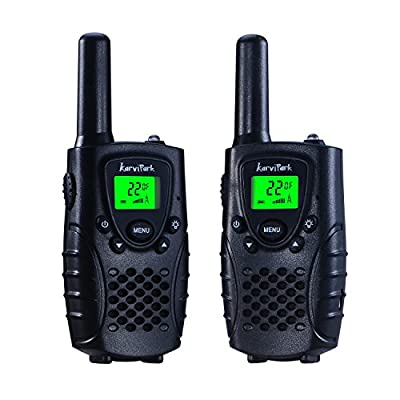 KarviPack Walkie Talkie Kids,22 Channel two way radio 3 Miles(Up to 5 Miles),Could be charged by KarviPack